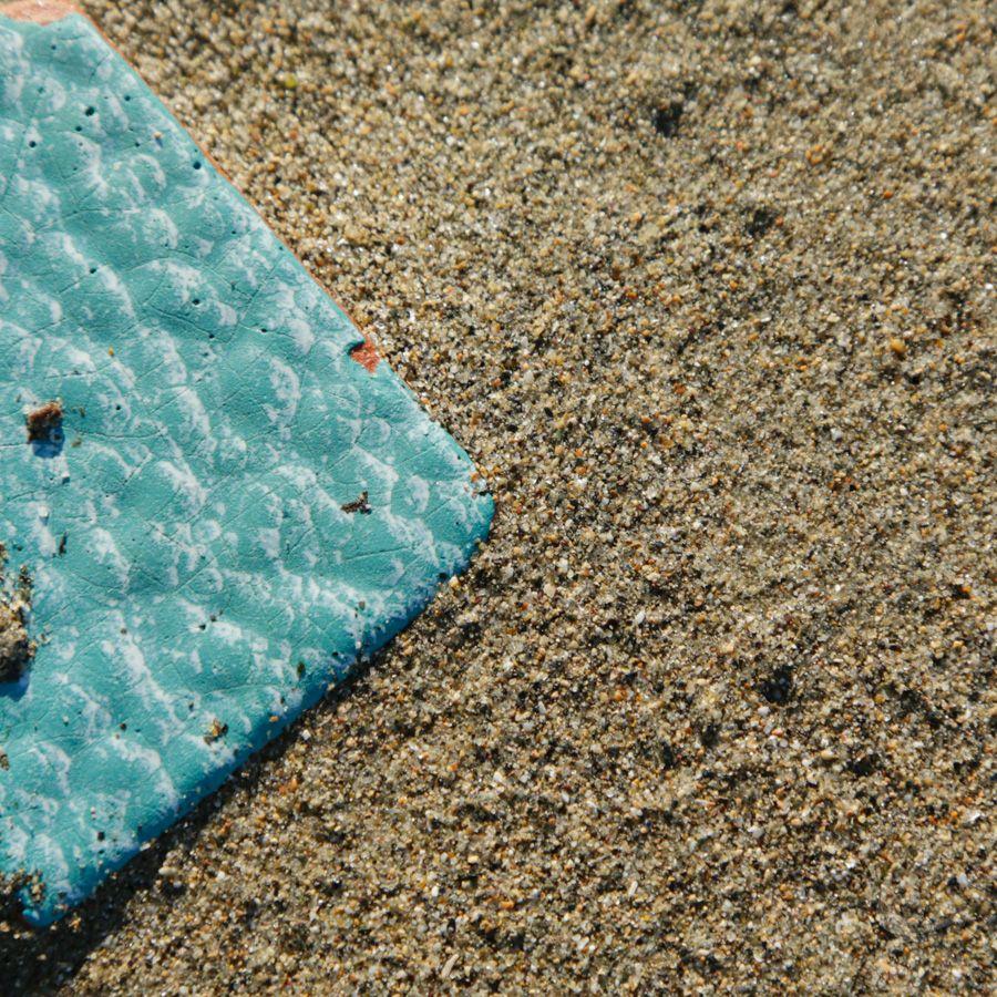 Carrelage et sable